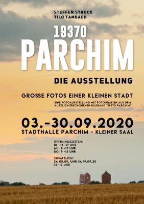 """Plakat """"19370 Parchim"""""""
