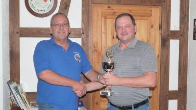Michael Rössing gewann den Pokal 2019