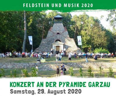 FuM- Kontert 2020 an der Pyramide Garzau
