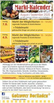 Markt-Kalender Golzow