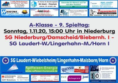 9. Spieltag der SG Laudert/Lingerhahn/Horn I