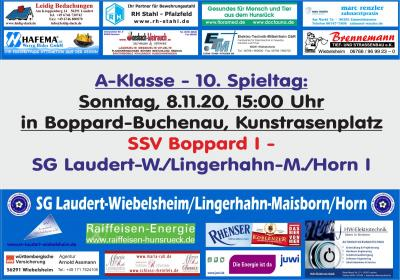 10. Spieltag der SG Laudert/Lingerhahn/Horn I