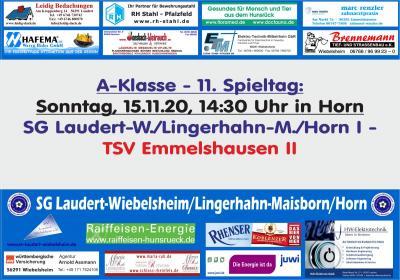 11. Spieltag der SG Laudert/Lingerhahn/Horn I