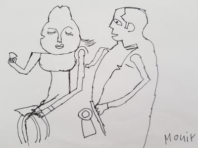 Bild eines Künstlers