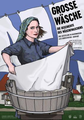 Ausstellung Große Wäsche