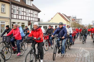Beim Abradeln geht es von Pritzwalk nach Steffenshagen und zurück zur Freilichtbühne am Bismarckturm. Foto: Andreas König/Stadt Pritzwalk