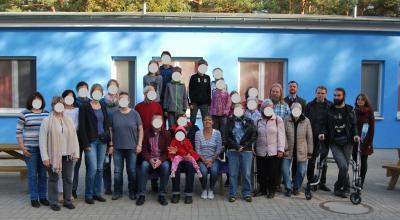 Gruppenbild der letzten Hirschluchfahrt, 2018. Schön war's.