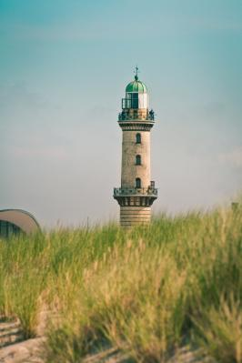 Leuchtturm Wanrmeünde, Foto: WikiMedia