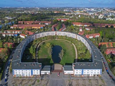 Berlin, Hufeisensiedlung, Foto: Wikimedia