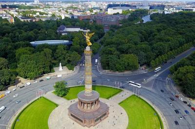 Siegessäule im Tiergarten, Berlin