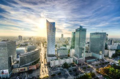 Downtown Warschau, Foto: Peter Heeling