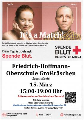 Plakat Blutspende