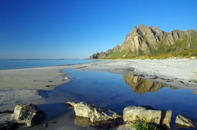 Strand in Nordnorwegen