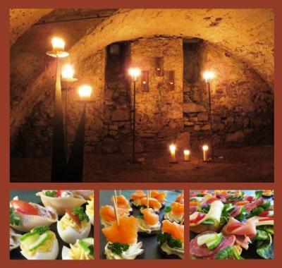 Abendführung mit kleinen Köstlichkeiten aus der Klosterküche