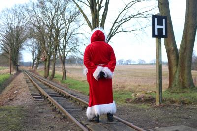 Der Nikolaus sucht den Pollo. Foto: Ronad Meissner