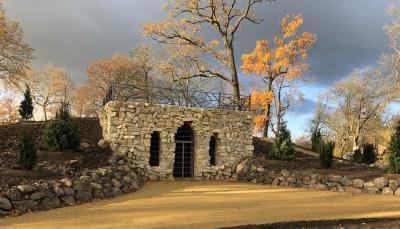 Der Grottenberg Ende Nov. 2020, Foto: S. Weber