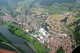 Blick auf Fechenbach