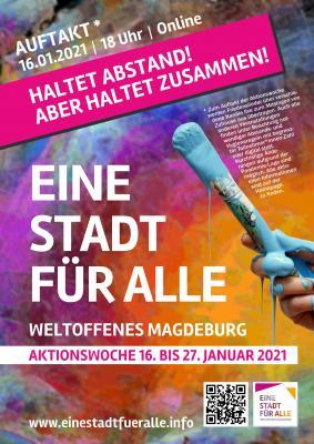 Auftakt Magdeburg singt am 16.1.2021 um 18 Uhr