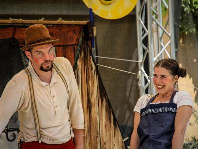 Wandertheater Schwalbe Foto: Künstler