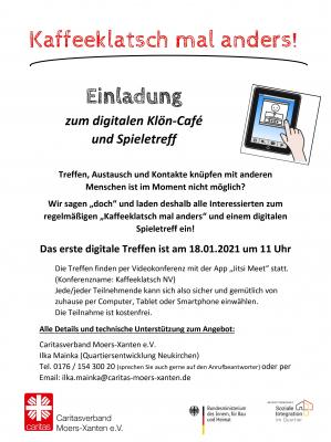 Digitale Veranstaltung