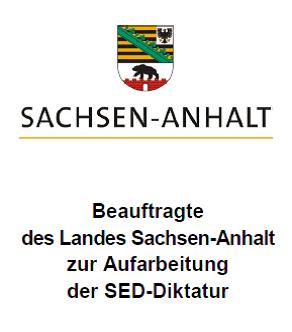 Beauftragte des Landes Sachsen-Anhalt zur Aufarbeitung der SED-Diktatur
