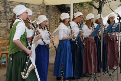 Auftritt beim 18. Jahrhundertfest in Marbach