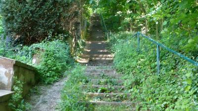 Gimmigen, die lange Treppe