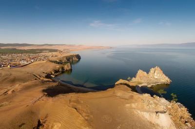 Schamanenfelsen am Baikalsee, Foto: Holger Fritzsche