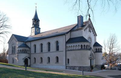 Kreuzkirche Lugau (Foto: W. Frech)