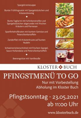 Pfingstmenü TO GO