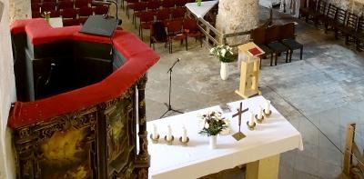 Herzliche Einladung zum Pfingst-GD in der Stadtpfarrkirche Beelitz.