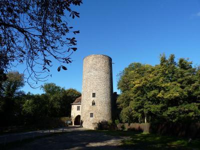 Burgturm von der Burg Rabenstein