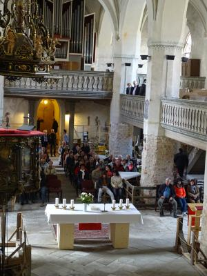 Herzliche Einladung zum Gottesdienst in unserer Stadtpfarrkirche zu Beelitz!