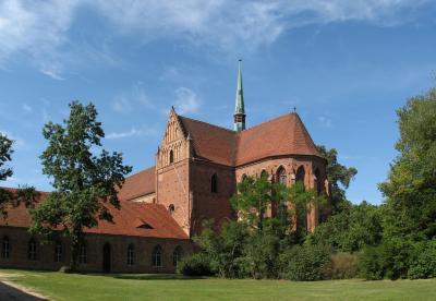 Kloster Chorin, Foto: Ralf Roletscheck