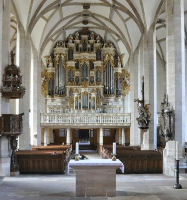 Orgel im Dom zu Merseburg, Foto: Hoger