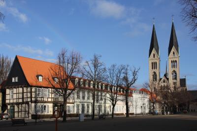 Domplatz Halberstadt, Foto: Frank Bothe