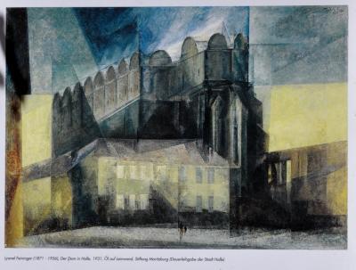 Lyonel Feininger, Der Dom in Halle, 1931