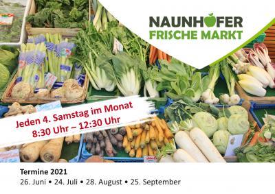 Naunhofer Frischemarkt jeden 4. Samstag im Monat