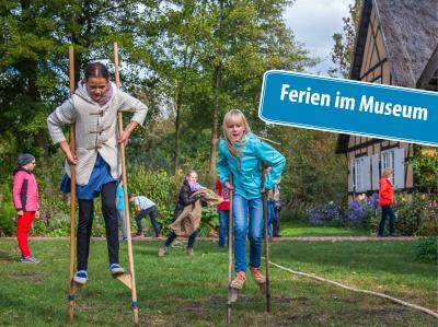 Ferien im Museum, Freilandmuseum Lehde, Foto Peter Becker